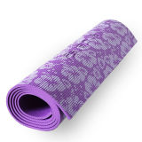 De Yoga Mat van pvc met Logo Embossing of Color Printing