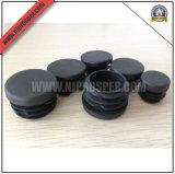 Chapeaux ronds noirs en plastique de PE pour les pattes de présidence (YZF-C308)