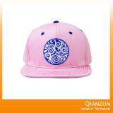 Do jacquard liso da borda de Customed chapéus mexicanos do Snapback