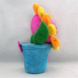 美しい漫画デザイン顧客用柔らかいプラシ天によって詰められる花のおもちゃ