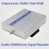 репитер GSM наивысшей мощности выхода 2watt увеличения AGC Mgc 85dB репитера 2watts GSM