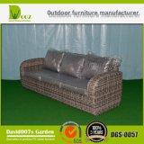 Rattan do PE & mobília do alumínio, sofá ao ar livre do Rattan