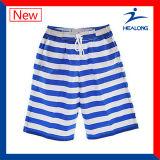 Краткости пляжа печатание сублимации краски оптовой продажи Healong изготовленный на заказ