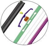 Pára-brisa Wiper Blades para Specific Arm (M6)