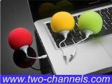 El altavoz del caramelo, nuevo mini audio atraca a jugador móvil del amplificador del repetidor de la bola de la música del altavoz de la esponja, regalos promocionales (STD-L1)