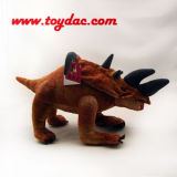 Игрушка динозавра плюша одичалая