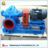 Pompe à eau fendue horizontale entraînée par un moteur électrique de cas de double aspiration d'étape simple de grande capacité
