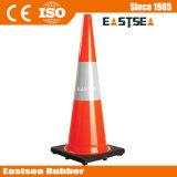 De oranje Kegels van de Verkeersveiligheid van de Kegels van de Aanleg van Wegen van pvc Voor Goedkope Verkoop