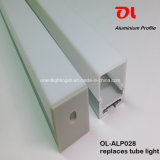 Alp028 Anodisé Suspension Extrusion Aluminium LED Profil