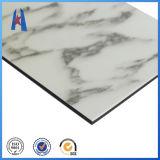 Matériel composé en aluminium blanc de panneau du gris ACP