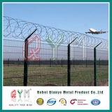 Qualitäts-Stacheldraht-Ineinander greifen 358fence/Sicherheits-Flughafen-Zaunanping-Fabrik
