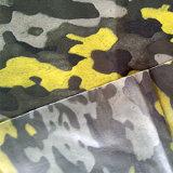 Tela llena pesada impermeable de la PU de Printied para la chaqueta
