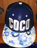 Marée faite sur commande d'OEM brodée et chapeau de sport de mode de ville d'impression