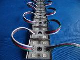 RGB 5050는 4개의 칩 IP65 SMD LED 모듈을 방수 처리한다