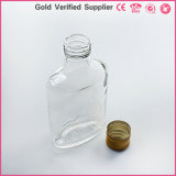 стеклянная бутылка 200ml для ликвора вина с алюминиевой крышкой