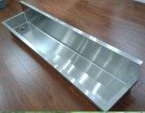 Wallmount lungamente attraverso, dispersore dell'acciaio inossidabile (Q180*38*30-3/1)