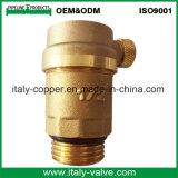 L'ottone personalizzato di qualità ha forgiato la valvola a sfera del cunicolo di ventilazione (IC-3092)