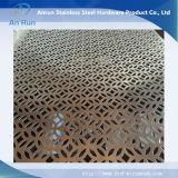 Strati perforati galvanizzati professionista per la decorazione