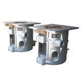 Horno fusorio de aluminio 500kw de la calefacción de inducción de la frecuencia intermedia de Kgps