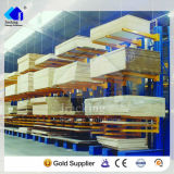 Industrieel het Rekken van de Cantilever van de Opslag van het Staal Systeem voor Bouwmaterialen