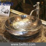 Уникально раковина сосуда ванной комнаты фарфора с античной мебелью (C-1072)