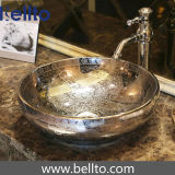 Porcelain único Vessel Sink para Antique Bathroom (C-1072)
