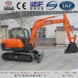 Máquina escavadora Digger 5.5t da esteira rolante de Shandong mini