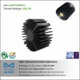 LED 알루미늄 밀어남 별 냉각기 열 싱크 Simpoled-160100 D160mm H100mm