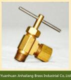 Válvula de agulha de bronze forjada do ângulo