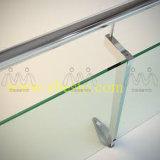 Fornecedor de vidro personalizado da tela da porta Tempered branca desobstruída do banho de chuveiro