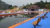 Piattaforme della piscina della parte dei pontoni