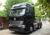 6X4 HOWO A7 420HP Tractor Jefe de camiones