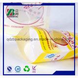 Sacchetto impaccante personalizzato della maniglia dell'ugello del becco di stampa del vino di plastica del sacchetto (ZB388)