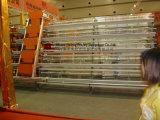 Cage alimentante de matériel de ferme de batterie de volaille sur la vente