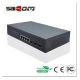 7 interruptor inteligente de Saicom das portas (SC-510403M) 3GX+4GE para a câmera do IP