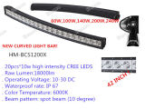 Hoge Intensity 10W CREE van Road Curved LED Light Bar voor Op zwaar werk berekend, SUV Military, Truck, Trailer