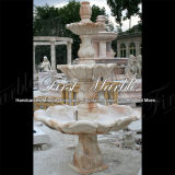 Fontana rossa Mf-379 di Ny della fontana della pietra della fontana della fontana di marmo del granito