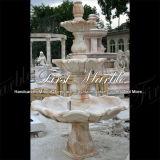 Fontana rossa Mf-379 di Ny dell'acqua di pietra di marmo del granito