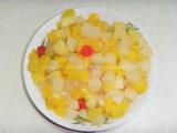 De Fruitsalade van de Cocktail van het fruit in Tin, Kruik, de Plastic Verpakking van de Kop