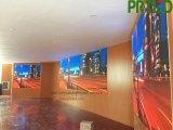 Afficheur LED P2.5 d'intérieur polychrome de HD avec les panneaux de coulage sous pression de 400 * 300 millimètres