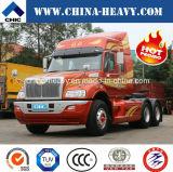 FAW /Jiefangの長いタクシーは/長くまたは長いヘッド420HP 6X4トラクターのトラックヘッドトラクターのトラックゆっくり進む