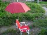Tubo de metal muebles de exterior de acero con 600d Beach poliéster plegable silla de camping