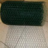 Rede de fio do PVC/engranzamento fio sextavados revestidos da galinha