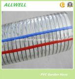 "PVCプラスチックばねの螺線形の鋼線水ホース1 """