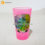 480ml Black light -Pink Pint Glass met Overdrukplaatje Foil