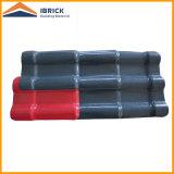 Azulejo de azotea revestido resistente de la resina sintetizada del PVC del Asa del tiempo para la casa