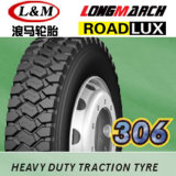 Longmarch, Annaite, pneu 12r22.5, 295/80r22.5 de camion de Roadlux pour le marché de l'Amérique du Sud