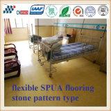Revestimento flexível de Spua resistente à abrasão e à proteção antideslizante com tipo de padrão de pedra