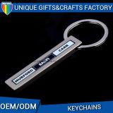Chapeamento niquelar Keychain do OEM com esmalte macio para a lembrança