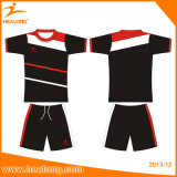 De Healong Sportswear uniforme Sublimated Digital seco da roupa de Jersey do futebol rapidamente